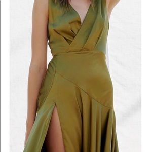 Free people/ Fame and Partners Dress/ Gown